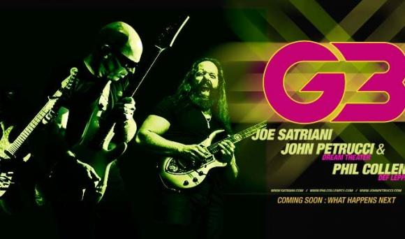 Joe Satriani, John Petrucci & Phil Collen at Orpheum Theatre Boston