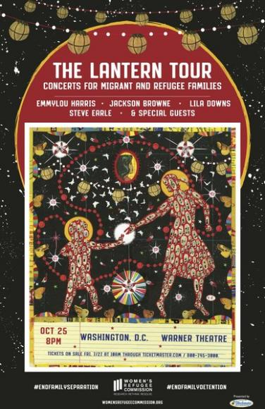 The Lantern Tour: Emmylou Harris, Jackson Browne, Lila Downs & Steve Earle at Orpheum Theatre Boston