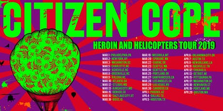Citizen Cope at Orpheum Theatre Boston