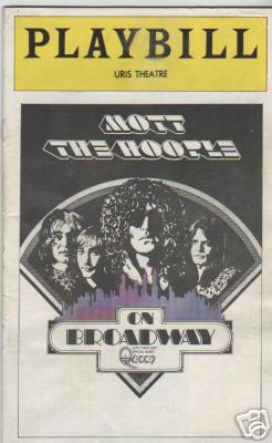 Mott The Hoople '74 at Orpheum Theatre Boston