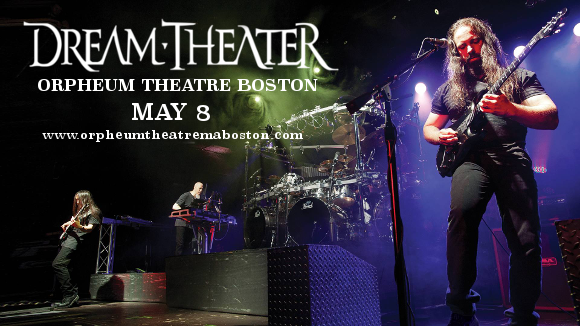 Dream Theater at Orpheum Theatre Boston