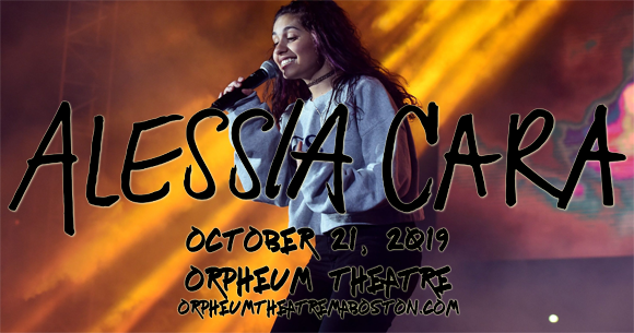 Alessia Cara at Orpheum Theatre Boston