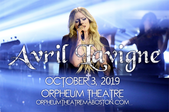 Avril Lavigne at Orpheum Theatre Boston