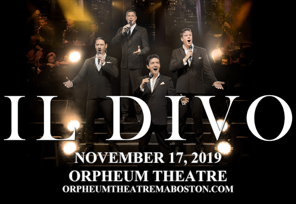 Il Divo at Orpheum Theatre Boston