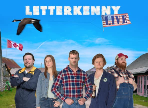 Letterkenny Live at Orpheum Theatre Boston
