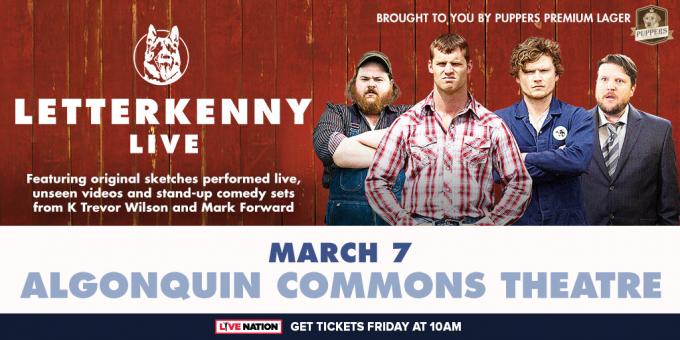 Letterkenny Live at Orpheum Theatre Boston